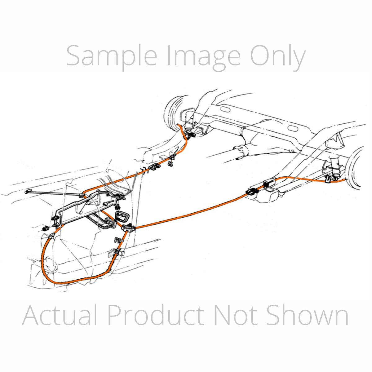 1970-72 Chevrolet Monte Carlo, T400, Parking Brake Cable Kit, Stainles –  Inline Tube | 72 Monte Carlo Engine Diagram |  | Inline Tube