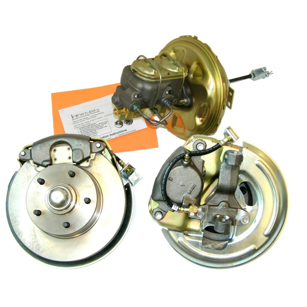 1968-72 GM A-Body Power Disc Brake Conversion Kit