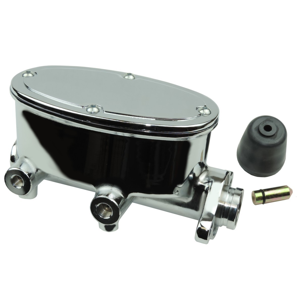 Fixed Black Disc Drum Proportioning Valve Kit for Wilwood Oval Master Cylinders