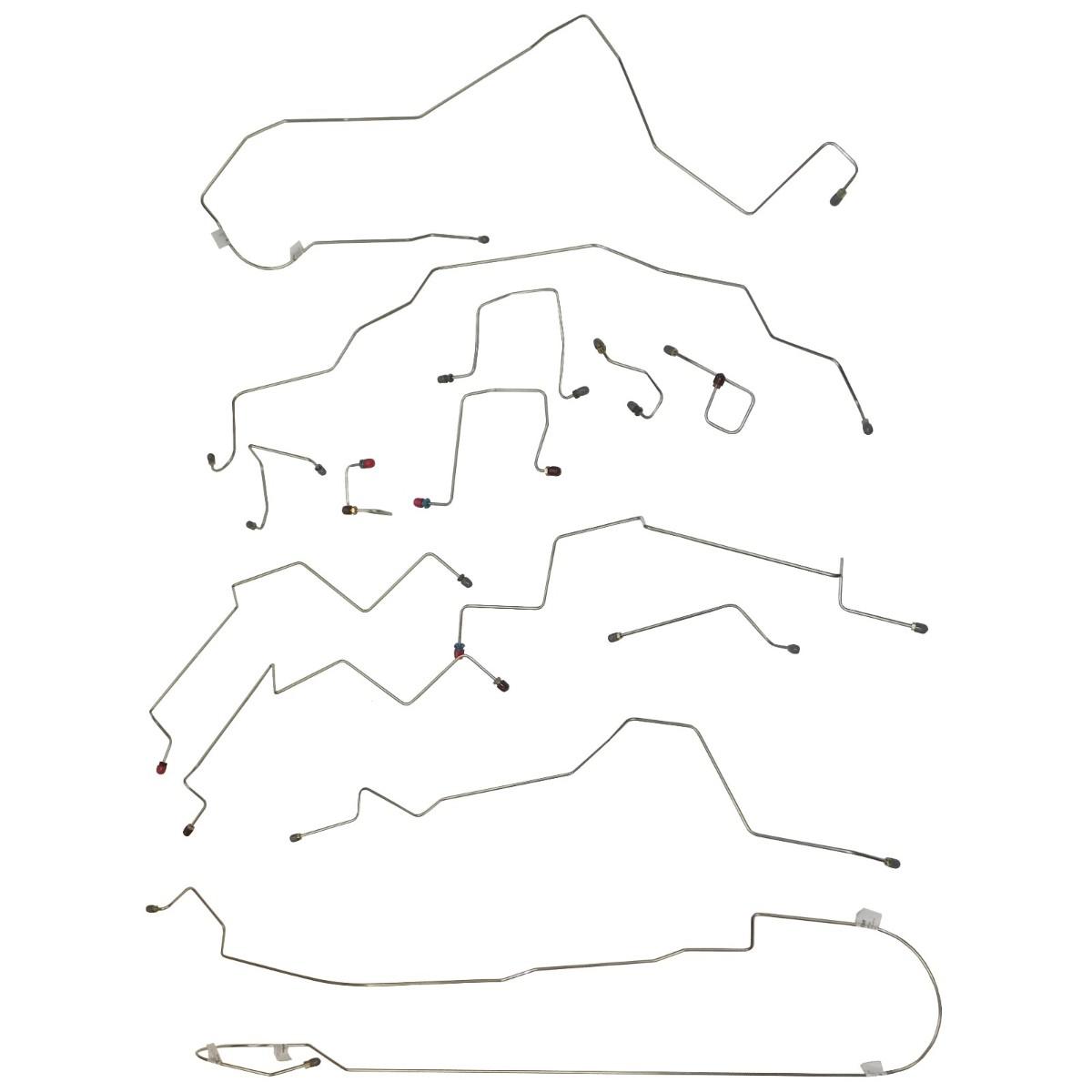 1998 Dodge Ram 2500 Brake Line Diagram